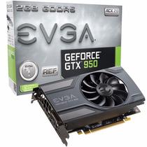 Placa De Video Evga Geforce Gtx 950 2gb Ddr5 02g-p4-1950-kr