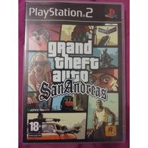 Jogo Gta San Andreas Ps2 Europeu Original