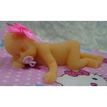 Molde De Silicone Bebê De Bruços Lembrança Baby - No Brasil