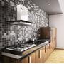 Papel De Parede Para Cozinha Banheiro Pastilhas Adesivo 10mt