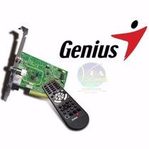 Capturadora Video Tv Genius Tvgo A12 Con Radio Fm Y Control
