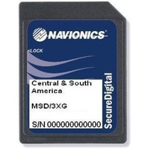 Carta Náutica Navionics Gold 3xg - America Do Sul E Central