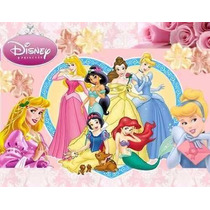 Kit Imprimible Princesas Diseñá Tarjetas Cumples Invitacion