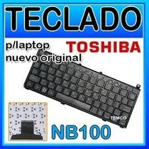 Teclado Toshiba Nb100