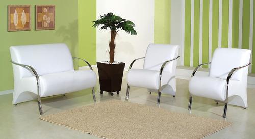 #474258 Conjunto De Poltronas Decorativas Cadeiras Sala De Estar  500x273 píxeis em Cadeira Moderna Madeira Para Sala Estar
