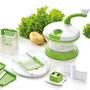 Salad Maker Procesadora Manual Cortadora Ensalada Pica Ralla