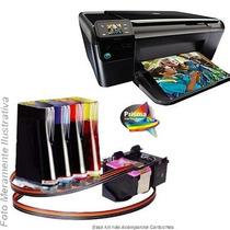 Bulk Ink Para Impressora Hp C4680 Com Presilhas Especiais