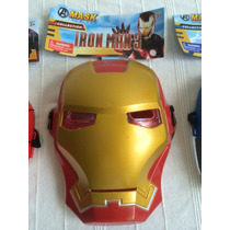 Mascaras Spiderman Capitan America Ironman Advengers