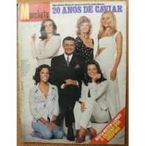 Manchete - 1972 - Ibrahim Sued 20 Anos Caviar / Playboy