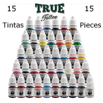 Tinta Para Tatuagem Kit 15 Tintas - A Pronta Entrega