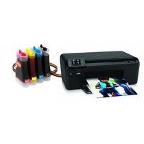 Bulk Ink Para Impressora Hp D110 Com Presilhas Especiais