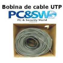 Cable Utp Categoría 5e Certificado 305 Metros (1000ft)
