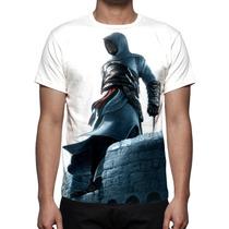Camisa, Camiseta Assassins Creed 1 Altair - Estampa Total