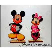 Souvenirs Minnie Mickey Mouse Bebe Disney 1 Añito Bautismos