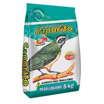 Ração Saporito Mix Alimento Mistura Para Aves Pássaros 5 Kg
