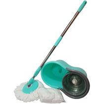 Mop Mix Inox Balde Esfregão De Limpeza + 2 Refis