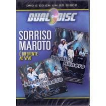 Dvd + Cd - Sorriso Maroto É Diferente Ao Vivo-dual-disc ***