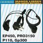 Manos Libres Tubo Acustico Motorola Ep450 Gp300 P110 A8