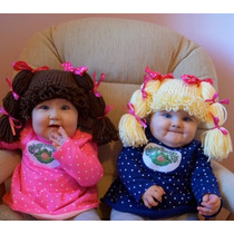 Gorrito De Crochet Estilo Cabbage Patch