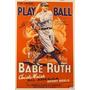 Baseball - Historia De Los Deportes - Lámina 45x30 Cm.