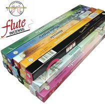Incenso Indiano Varetas Flute Sortidos 25 Caixas C/8 Varetas