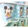Vasos Mickey Bebe, Plasticos Descartables!!!