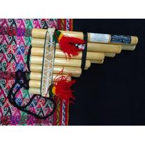 Zampoña Chulli, Ika (pequeña, Chica). Instrumento Musical