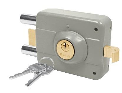 Cerradura doble cerrojo alta seguridad izquierda truper - Cerraduras de seguridad precios ...