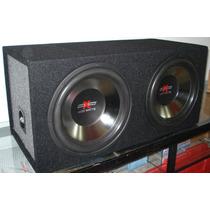 Cajon Doble Con 2 Bajos 12 Sound Xtreme 1400 Watts Nuevo