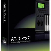 Sony Acid Pro 7 + Producer Loops & Samples (descuentos!)