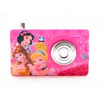 Maquina Fotográfica Infantil Disney Princesas Rosa