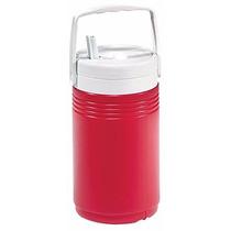 Coleman Termo Poly Lite 1/2 Galón, Rojo 1.89 Litros