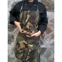 Mandil Camuflajeado Soldado Militar Chef