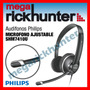 Audifonos Philips Para Pc Con Microfono Ajustable Shm7410u