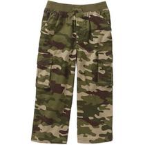 Pantalon Cargo Talla 3 Camuflaje Militar Niño Envio Gratis