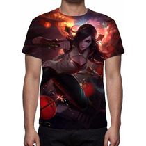 Camisa, Camiseta League Of Legends Katarina Reinos
