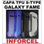 Capa Premium Tpu S-type Samsung Galaxy Fame Gt S6810 S6812