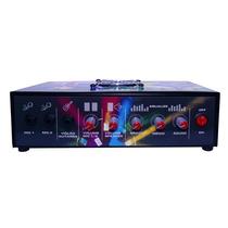 Amplificador Mesa Mixer 300wrms 2 Canais Som Igreja Casa
