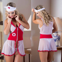 Fantasia Erótica Médica Enfermeira Feminina [ Frete Grátis ]