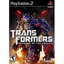 Patch Transformers Revenge Of The Fallen Ps2 Frete Gratis