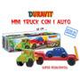 Camion Transporte Con Trailer Y 1 Auto Duravit Mini Truck