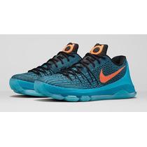 Tenis Kevin Durant 8 Nike No. 28 Mx Originales Y En Caja