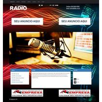 Script Webradio E Tv Administravel Responsivo (php) (mysql)
