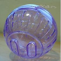 Hamster Esfera Con Base Marca Azul