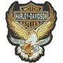 Patch Bordado Hmd010 Aguia Harley Davidson Grande Costas