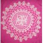 Centro De Mesa O Carpeta Tejida Al Crochet Lista Para Envío