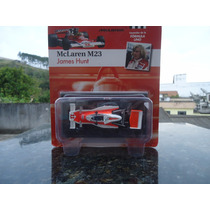 Miniatura De Veículo Fórmula 1 Mclaren M23 James Hunt