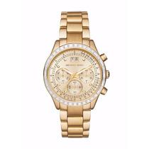 Relógio Feminino Michael Kors Dourado Mk6187-completo