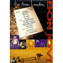 Dvd Bon Jovi: Live From London Japones