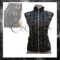 Chaleco 14 Heb Eretica Hombre Y Mujer.dark,gotico,metalero